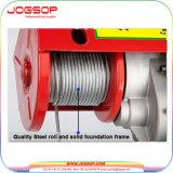 880 libras de mini de alambre del cable del alzamiento elevación eléctrica de la grúa de arriba