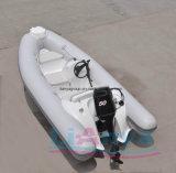 Шлюпки нервюры PVC Liya 3.8m шлюпка 380 скорости Китая роскошной твердая раздувная
