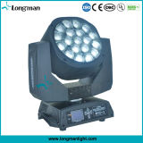 Перемещение блока цилиндров Bee глаз 19*15W RGBW LED этап эффект освещения