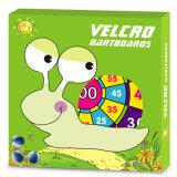 Dartboard del tessuto dei giocattoli dei bambini con i dardi