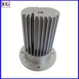 Botão de fundição de moldes personalizados de suporte mecânico de peças de alumínio