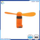 Ventilador portátil do USB do curso dos dispositivos do verão mini com telefone esperto