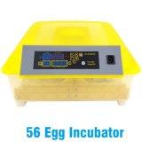 Автоматическая 56 куриное яйцо инкубатор с маркировкой CE Сертификат
