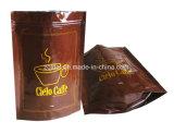 印刷されたアルミホイルのコーヒーバッグ