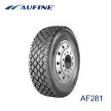 トラックのタイヤの385/65r22.5のための頑丈なトラックバスタイヤ