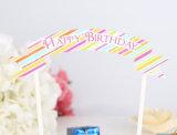 Наиболее востребованных с днем рождения торт декоративные письмо плакатной бумаге флаг торт баннер
