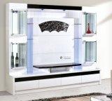 Kabinetten van de Vertoning van TV van de woonkamer de Houten met LEIDEN Licht