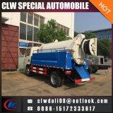 4*2 Dongfeng 판매를 위한 3 Cbm 탱크를 가진 작은 하수 오물 흡입 유조 트럭