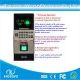 Biometría Control de Accesos escáner de huellas digitales de la máquina del sistema de sensores Frid lector RFID tarjeta