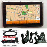 """Hot Sale 4.3"""" voiture camion Marine Navigation GPS avec Wince 6.0 800 MHz CPU, transmetteur FM, AV-in de la caméra arrière, système de navigation GPS de poche"""