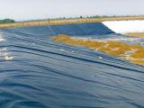 白いカラーの養魚場のGeomembraneの池はさみ金