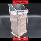 De plastic Speelkaart van 8 Dekken verwerpt de Specifieke Toebehoren van de Lijst van de Pook van het Casino van de Houder/van het Vakje Spelen ym-PS01