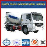 2017新しいブランドのポンプを搭載する具体的な輸送のミキサーのトラック
