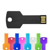 Da movimentação chave do flash do USB 128GB do metal movimentação impermeável do flash da vara da memória do USB 2.0 da movimentação 8GB 16GB 32GB 64GB Pendrive da pena