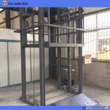 Elevador dos bens do trilho de guia do elevador da carga do armazém