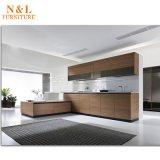 De houten Keukenkast van de Melamine van het Meubilair Moderne