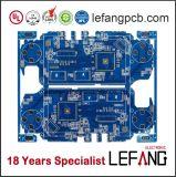 Доска PCB связи с голубой маской припоя