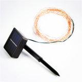 Câblage cuivre de RVB 10m 100 DEL, lampe de quirlandes électriques de chaîne de caractères de DEL pour la décoration