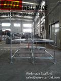 Sistema de andaimes Kwikstage australiano Gio Quickstage galvanizado AS/NZS 1576 Gio