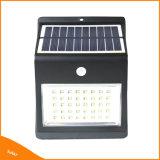 Sensor de movimiento PIR LED de 46 de la luz solar Solar al aire libre Jardín de luz LED
