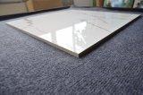 Carara белый мраморный полированный с остеклением фарфора плитки стандартного размера
