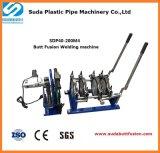 40-200mm máquina de solda para polietileno