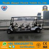 Marca 8 Seater di Zhongyi fuori dal veicolo di impianto elettrico della strada per il terreno da golf con l'alta qualità