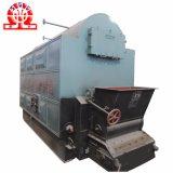 Chaudière à vapeur allumée par biomasse commerciale d'assurance de 2 t/h