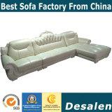 Mejor calidad de la recepción del hotel mobiliario sofá de cuero (A842-1)