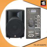 15 Zoll 350W Digital Ampere Bluetooth EQ für iPod PlastikActive PA-Lautsprecher PS-2515depd