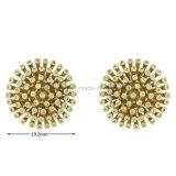 卸し売り真鍮の宝石類ははめ込んだ毎日の摩耗(KE3084)のための耳のスタッドに