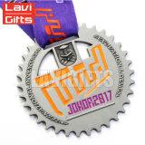 良質の安いカスタムJiu Jitsuのトーナメントメダル