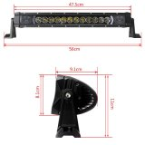 19inch 60W 8100lm J-60 LED Auto-heller Stab