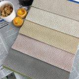 중국에서 2015년 무지개 줄무늬에 의하여 뜨개질을 하는 직물