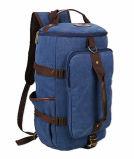 진한 파란색 1개의 X 우연한 책가방 남자의 책가방 Retro 옥외 운동 여행 화포 책가방