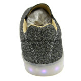 2018 ботинок самых последних людей Rechargealbe конструкции светлых с Giltter