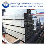 Tubo d'acciaio quadrato d'acciaio galvanizzato tuffato caldo di Pipe/Gi/materiale da costruzione struttura del tubo