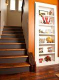螺線形様式の堅材木製階段デザイン