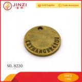 工場ハンドバッグのハードウェアのための卸し売りカスタム金属の硬貨のロゴの版