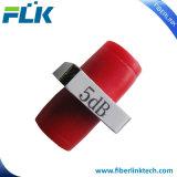 Atténuateur fixe de connecteur optique de fibre de la cloison étanche Sc/LC/FC/St