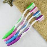 con el cepillo de dientes suave de la cerda de la extremidad del producto de limpieza de discos de la lengüeta