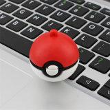 De gepersonaliseerde Bal USB Pendrives van de Por van de Aandrijving van de Flits van Pokemon USB van de Giften van het Embleem van de Douane USB voor BulkVerkoop