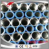 Verlegt mit Kontaktbuchsen heißes BAD galvanisierter ERW Stahlrohr-Zink-Beschichtung 220G/M2