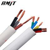 PVC que construye el cable eléctrico de la base