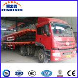 Do leito caminhões de reboque chineses Semi, recipiente liso da trilha, reboques de solda para a venda