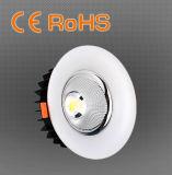 40W 8 pouces LED commercialisables COB vers le bas de la lumière avec RCM énumérés