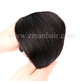 Longue ligne droite Virgin Remy Hair Trame humaine