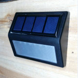 Promoción de la mayorista de pared de luz solar de jardín de luz LED de exterior