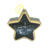 Cinco Estrellas de diferente color té Metal tin box