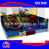 بلاستيكيّة أطفال ملعب قرصان سفينة ملعب داخليّ لأنّ [أموسمنت برك]